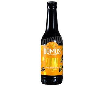 Summa Cerveza tostada domus 33 cl