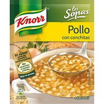 Knorr Pollo conchas Sobre 58 g