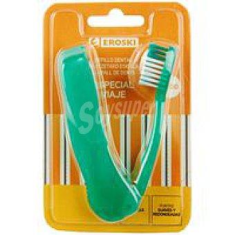 Eroski Cepillo dental Viaje Pack 1 unid