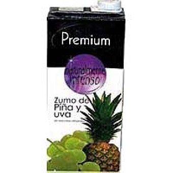 Zumo de piña-uva Brik 1 litro