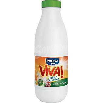 Puleva Leche Semidesnatada Viva Botella 1 litro