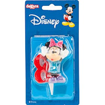 Dekora Vela familia Disney Nº8 1 unidad