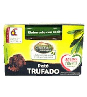 Creta Granjas Paté trufado con aceite de oliva 85 g