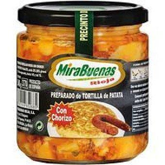 MIRABUENAS Preparado de patata con chorizo Tarro 340 g