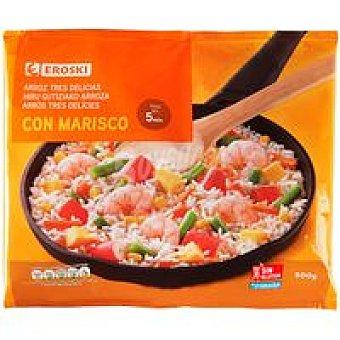 Eroski Arroz 3 delicias-marisco Bolsa 500 g