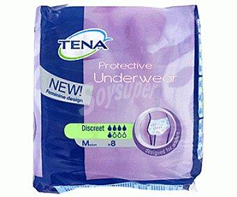 Tena Protector Underwear Descreet Talla M 8u