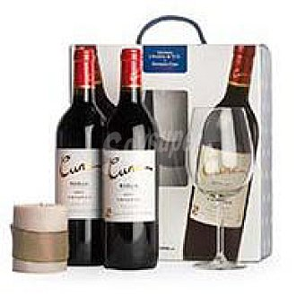 Cune Vino Tinto Crianza Rioja Pack 2x75 cl