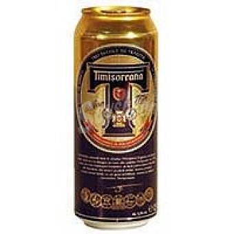 Timisoreana Cerveza rubia Lata 50 cl