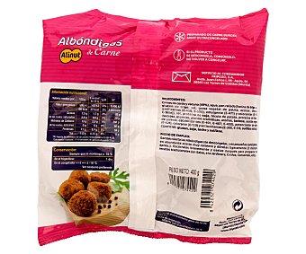 ALINUT Albóndigas de carne de cerdo y vacuno 400 g
