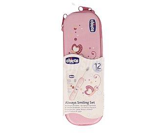 Chicco Set dental rosa a partir de 12 meses 1 unidad