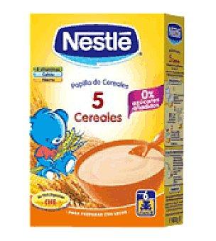 Nestlé Papillas 5 cereales 2 unidades de 1,2kg