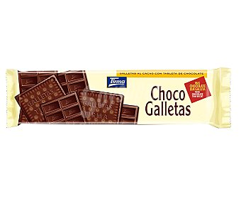 Tirma Galletas con tableta de chocolate negro 160 g