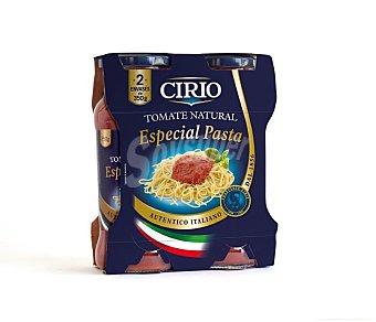 Cirio Tomate natural especial pasta Pack 2 x 350 g