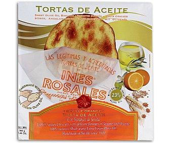 Ines Rosales Tortas de aceite con naranja 180 gramos