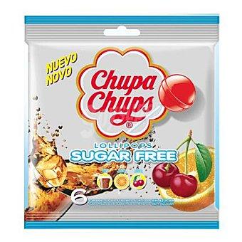 Chupa Chups Caramelo sin azúcar 6 ud