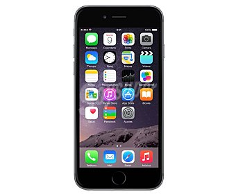 Apple Smartphone libre iPHONE 6 GRIS 64GB 1 undiad