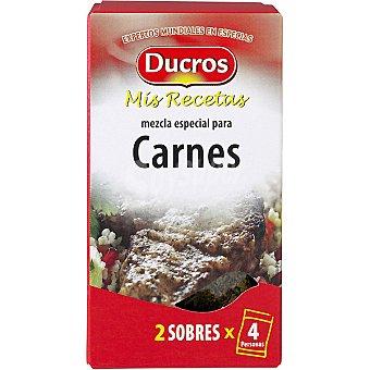 Ducros Sazonador para carnes Mis recetas Envase 10 g
