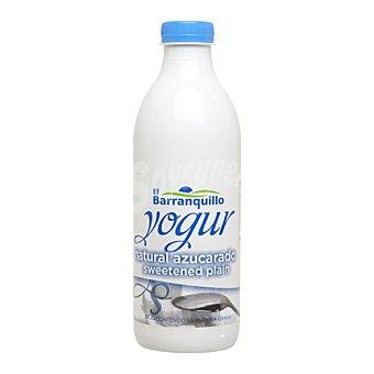 El Barranquillo Yogur batido natural azucarado 1 l
