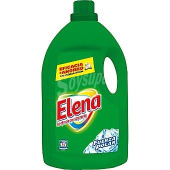 Elena Detergente máquina líquido Fuerza Polar botella 74 dosis Botella 74 dosis
