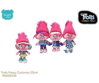 Trolls Surtido de peluches Poppy Ballerina de 25cm, trolls.