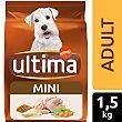 Alimento para perros mini Bolsa 1,5 kg Ultima Affinity