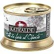 Pate de foie al Oporto 35% foie lata 130 g lata 130 g Katealde