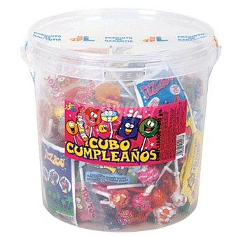 JUAN LOPEZ Cubo caramelos cumpleaños Bote 1,5 kg
