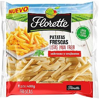 Florette Patatas frescas listas para freir bolsa 400 g Bolsa 400 g