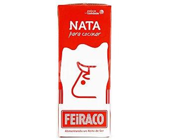 Feiraco Nata líquida para cocinar con 18% materia grasa 200 ml