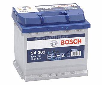Bosch Batería de coche 52Ah, arranque 470A, 12V, L: 20,7cm, A: 17,5cm, H: 19cm 020 S40 020