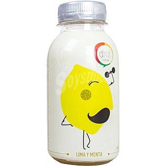 DFRUIT Zumo puro de lima y menta  botella de 250 ml