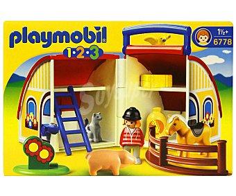 Playmobil Conjunto de Juego Playset Granja Maletín, Modelo 6778 1 Unidad