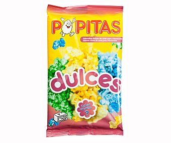 Borges Palomitas para microondas dulces y de colores Popitas Paquete 100 g