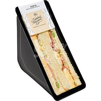 CALIDAD ARTESANA Sandwich vegetal  Pieza 200 g