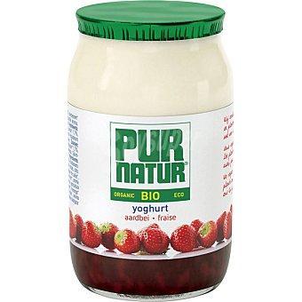 Pur Natur Yogur con fresas ecológico Tarro 150 g
