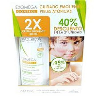 Control Crema duo exomega Pack 2 x 400 ml