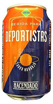 Hacendado Bebida isotónica naranja Lata de 330 cc