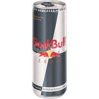 Red Bull Bebida energética sin azúcar RED bull Zero, lata 25 cl Lata 25 cl