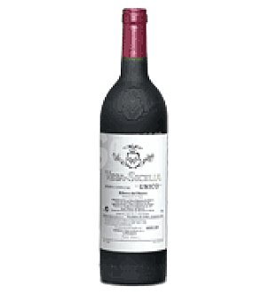 Vega Sicilia Vino D.O. Ribera del Duero tinto único 75 cl