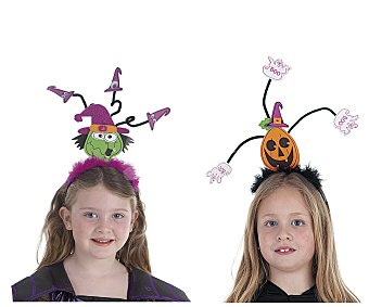 LLOPIS Diadema de alambre con motivos de Halloween Diadema Halloween