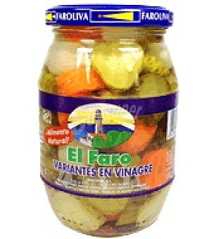 El Faro Variantes en vinagre 200 g