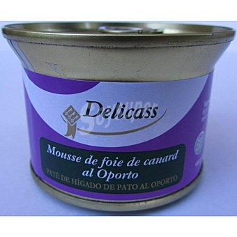 Delicass Paté de hígado de pato al oporto 130 gramos