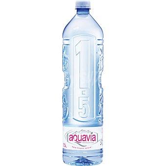 Aquavia Agua mineral natural de mineralización débil Pet 1,5 l