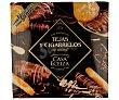 Surtido de tejas y cigarrillos de Tolosa bañados en chocolate 350 g Casa Eceiza