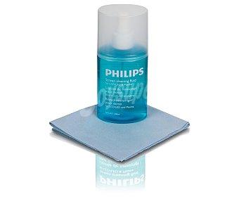 PHILIPS SVC1116. Liquido limpieza para televisores lcd/led/plasma, paño incluido