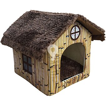 Cuna modelo casita para mascotas medidas 50x43x52 cm 1 unidad