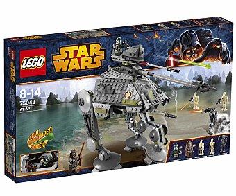 LEGO Juego de Construcción Stars Wars, Vehículo Terrestre AT-TP, Modelo 75043 1 Unidad