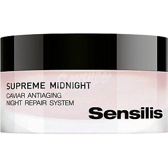 Sensilis Supreme Midnight crema facial de noche reparadora tarro 50 ml Tarro 50 ml