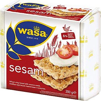 WASA Biscotes integrales con sesamo paquete 200 g