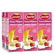 Zumo de fresa y plátano Pack de 6 briks de 20 cl Juver